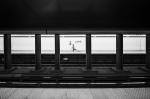 image of girl on subway platform