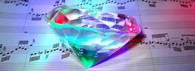 diamond-on-music-sheet